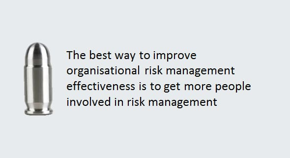 Effective risk management through increasing engagement