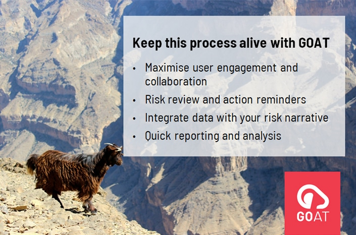 Simple risk software to raise risk maturity